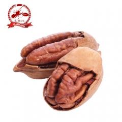 小西北新疆坚果山核桃原味特级碧根果大果自然开口长寿果 180g 袋装