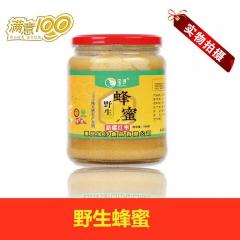 宝沙新疆若羌野生蜂蜜纯天然健康食品 500g 瓶装