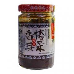 韩麻麻陕西特产韩塬金太阳香椿芽菜辣酱夹馍拌饭烹调 200g 瓶装