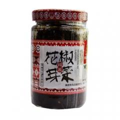 韩麻麻陕西特产韩塬金太阳花椒芽菜辣酱夹馍拌饭烹调 140g 瓶装