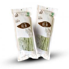 地道战绿色纯红薯粉条 300g*8袋 盒装
