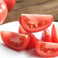 小苔绿色蔬菜硬粉色西红柿 2.5kg 箱