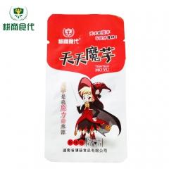 耕商食代天天魔芋美味休闲零食爽口魔芋丝(香辣味) 18g*50袋 盒