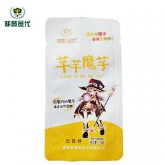 耕商食代芊芊魔芋美味休闲零食爽口素毛肚丝(五香味) 18g*50 盒