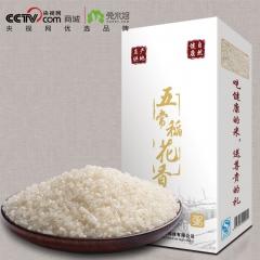 兔米悠黑龙江五常非转基因稻花香粥米 500g 盒