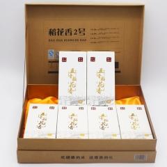 兔米悠黑龙江五常非转基因稻花香大米粥米礼盒 3KG 盒