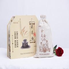 禾乐田园 禾乐面有机禾乐面天然富硒全麦面 0.75kg*4 盒装