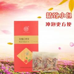 德聚兴玫瑰红枣茶(15包)美容养颜养生茶 160g 盒