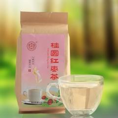 德聚兴桂圆红枣茶(40袋)美容养颜枸杞玫瑰花茶袋泡茶 160g/袋 盒