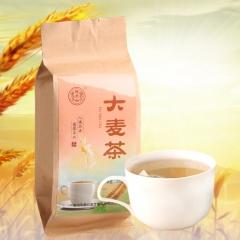 德聚兴浓香型原味大麦茶(40袋)东方咖啡烘焙袋装 200g/袋 盒