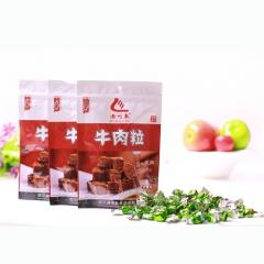 老川东香辣牛肉粒 42g*5袋 袋