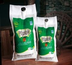高青大米纯正天然无污染鸭田米 5KG 袋装
