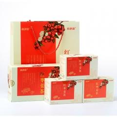 乐舒源红枣姜茶暖宫驱寒时尚女人茶无糖袋泡茶礼盒装 3g*20袋*3 盒装