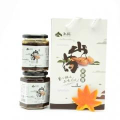 泓鹏来自太行山的美味鲜椒山药酱4瓶礼盒装(香辣2瓶+微辣2瓶) 280g*4瓶 盒