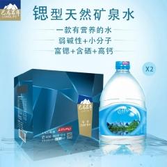巴马百年天然锶型矿泉水 4.5L*2 箱