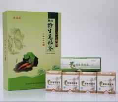 荣福堂黄山野生葛根茶绿色仿古礼盒(30g*5盒) 30g*5盒 盒装