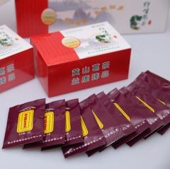 荣福堂黄山野生葛根茶红色小盒装60g 60g 盒装