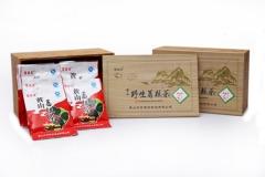 荣福堂黄山野生葛根茶仿古木礼盒(60g*3盒) 60g*3盒 盒装