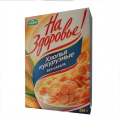稻谷力量进口俄罗斯无糖玉米片 250g 盒装
