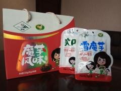 明珠魔芋风味食品礼盒 720克 盒装