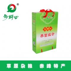 乡野田内蒙古杂粮荞面组合 5kg 盒