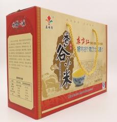 五女贞无公害香谷小米礼盒 2.5kg 盒装