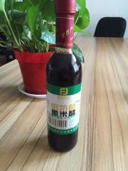 街坊农业富硒黑米醋 365ml*12 瓶装