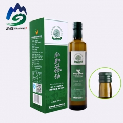 尚野高山原生态野生非转基因冷压榨山茶油 500ml 盒装