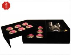 一朵牡丹 生态原产地醉红颜私人订制(12朵) 1200g 盒装