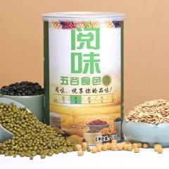 阅味五谷食色绿(木)五谷粉 510g 罐装