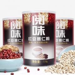 阅味红豆薏米燕麦粉 510g 罐装