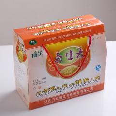 康全有机山区生姜农家风味酸酸甜甜泰生姜礼盒装 750g*2瓶 盒装