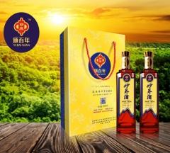 颐百年妙养酒双瓶盒装 500ml*2 盒装