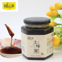 锦尚源秦岭土蜂蜜农家自产结晶蜜0添加蜂蜜 500g 瓶