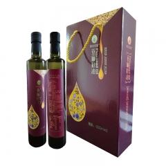 欧莱香源 亚麻籽油双瓶礼盒 500ML*2 盒装