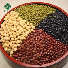 禾为贵 坡地杂粮 杂豆礼盒 含黑豆/黄豆/红小豆/豇豆/绿豆 绿色认证杂粮礼盒(普品) 4.56kg