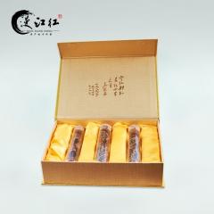 漫江红龙须茶宁州小种红茶茶叶 3瓶装12粒 盒装