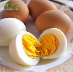 劳山村无公害土鸡蛋农家散养土鸡蛋30枚 无 盒装