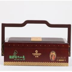 大汉茶 有机至尊国礼-极品汉中仙毫明前高山有机茶独芽清香耐泡 128g 盒装