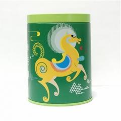 大汉茶 有机拳毛騧特级炒青 明前一芽一叶汤青叶绿 50g 罐装
