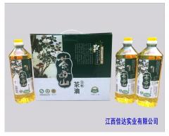 茶母山有机山茶油礼盒 1L*3瓶 盒装