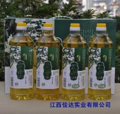 茶母山有机山茶油礼盒 1L*4瓶 盒装