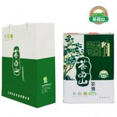 茶母山有机山茶油铁罐 4L 罐装