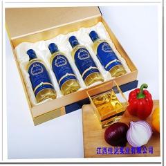 茶母山有机山茶油精品礼盒 500ml*4瓶 盒装