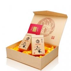 东方亮绿色山西特产祺亮五谷杂粮食小米粥 1.28kg 盒装