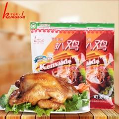 可麦得绿色山东特产卤味熟食即食五香扒鸡 500g 袋装