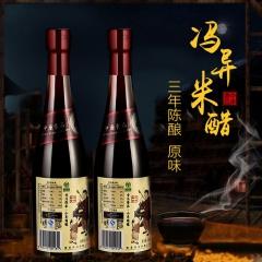 冯异醋业小米三年陈酿原味醋 430ml 瓶装