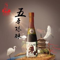 冯异醋业小米五年陈酿姜味醋 430ml 瓶装