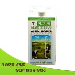 乍甸牛乳之房乳酸菌饮品—有糖型 528ml*8 箱装