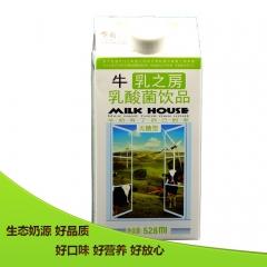 乍甸牛乳之房乳酸菌饮品—无糖型 528ml*8 箱装